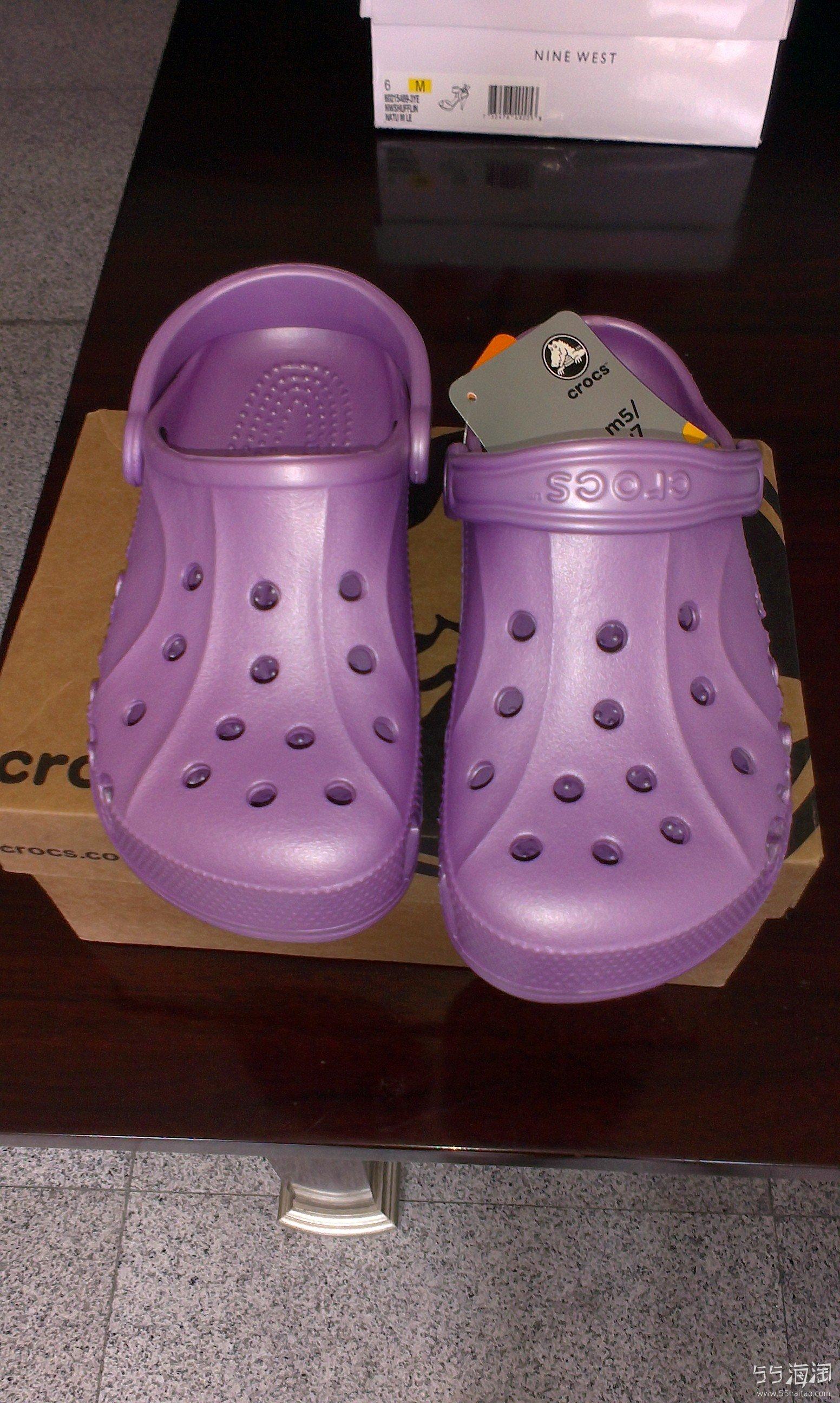 crocs 鞋子