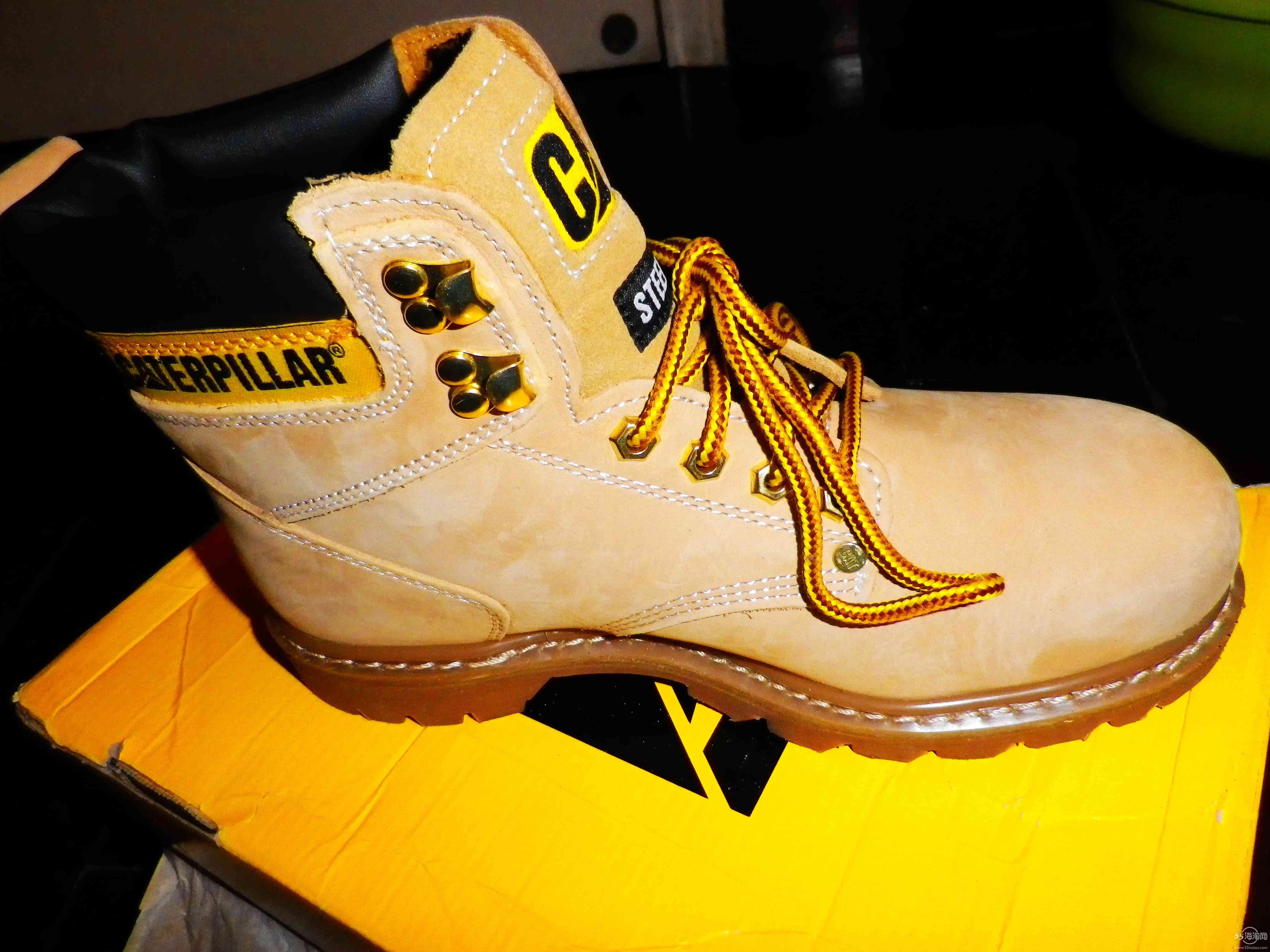 cat大黄靴 买大了 全新
