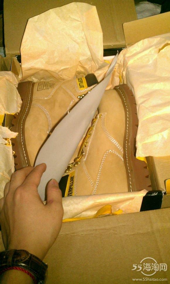 【晒单了】cat 大黄靴到手!