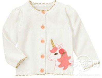 scalloped white sweater cardigan size 3t nwt enchanted unicorn