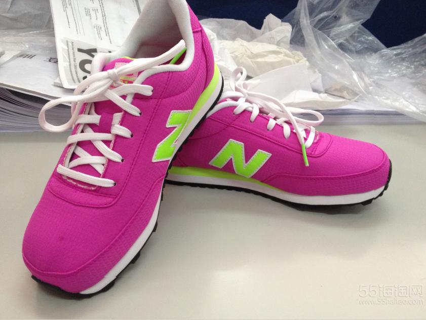 转女童nb鞋子一双,3码加宽